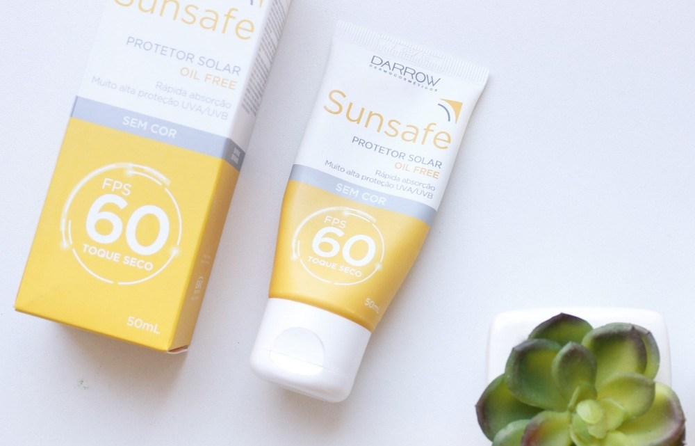 Sunsafe Protetor Solar sem cor FPS60 Darrow