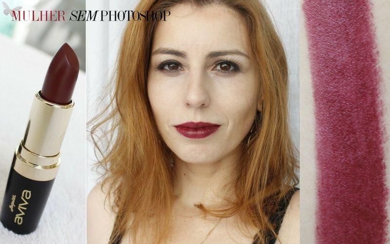 Batom Aviva  Color Supreme roxo - Jequiti