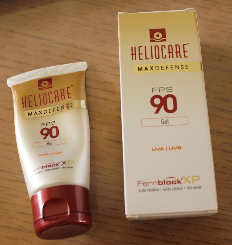 Heliocare Maxdefense FPS90 resenha protetor solar