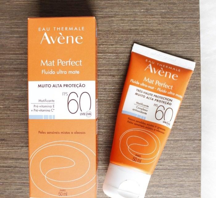 Mat Perfect FPS60 Avene – resenha de protetor solar