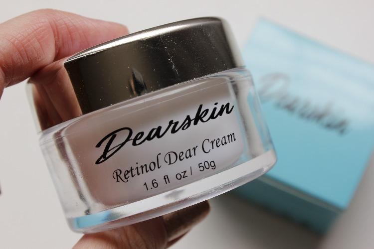 Retinol Dear Cream Dearskin resenha creme anti idade