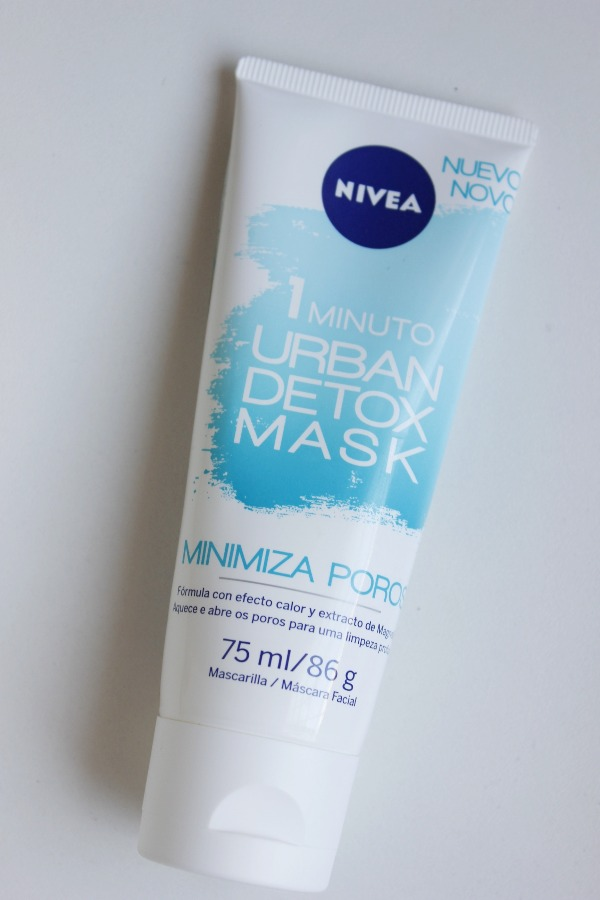 Urban Detox Minimiza Poros Nivea - resenha - limpeza pele oleosa
