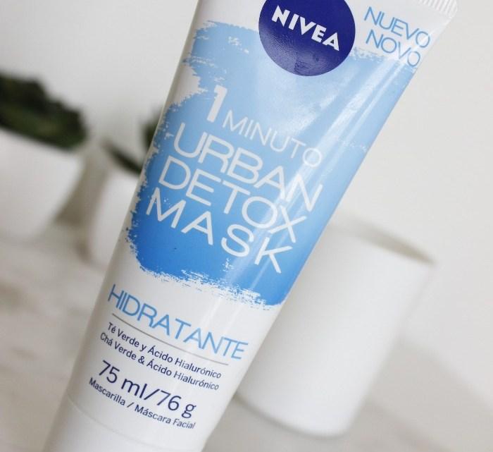 Nivea Urban Detox Mask Hidratante – resenha com vídeo!