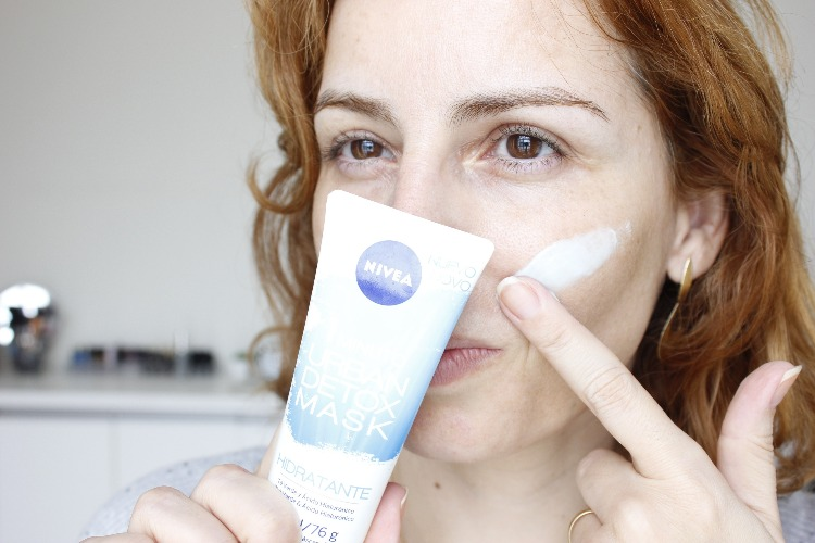 Nivea Urban Detox Mask Hidratante resenha