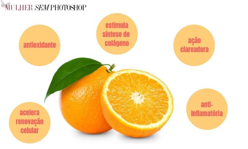 Vitamina C para pele madura