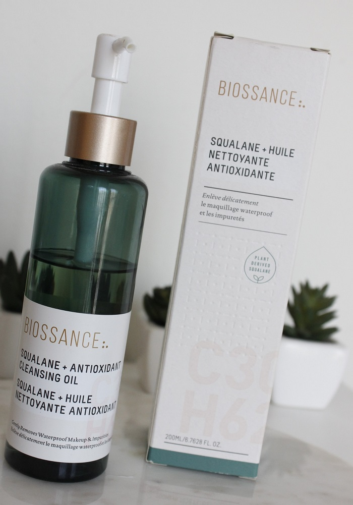 Biossance Cleansing Oil resenha