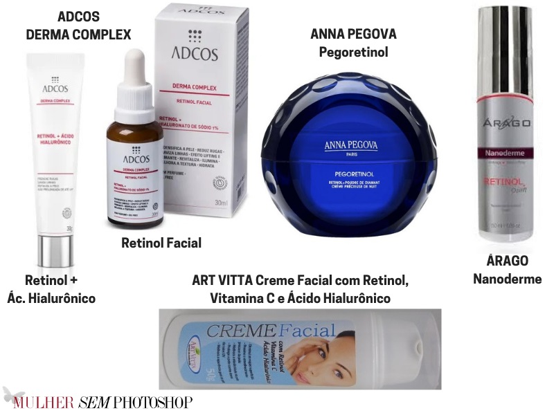 25 cremes com retinol - melhores cremes antissinais para comprar