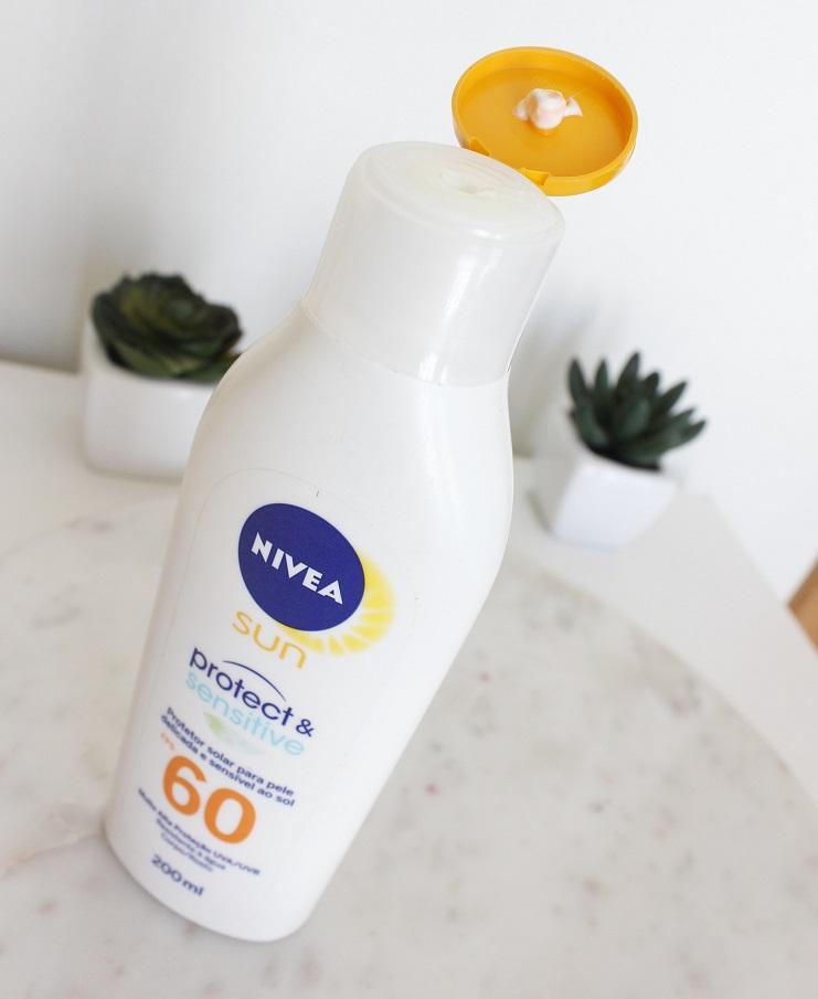 Nivea Protect Sensitive resenha protetor solar Nivea