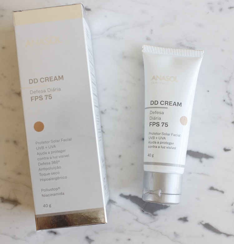 DD Cream Anasol Clinicals - resenha protetor solar com cor
