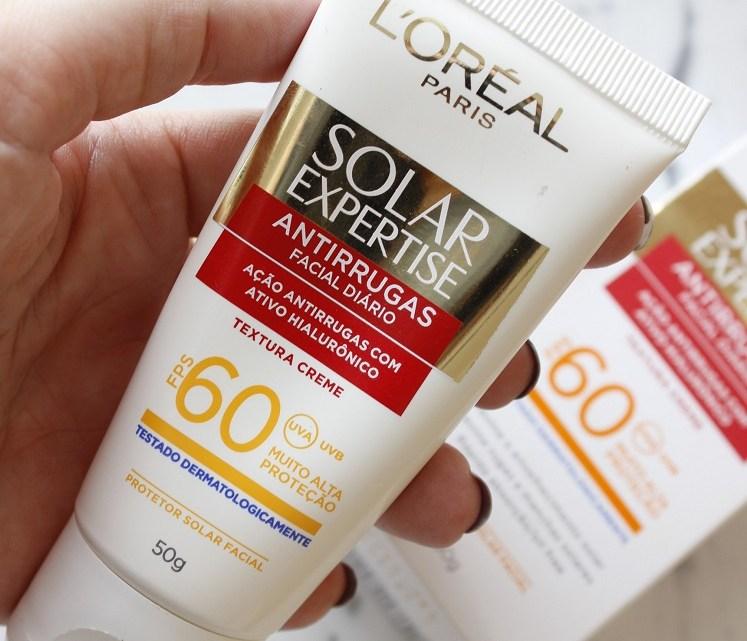 Loreal Solar Expertise Antirrugas resenha – é bom pra pele oleosa?