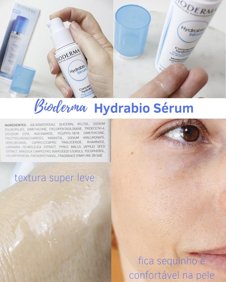 Hydrabio Sérum Bioderma resenha hdiratante pele oleosa