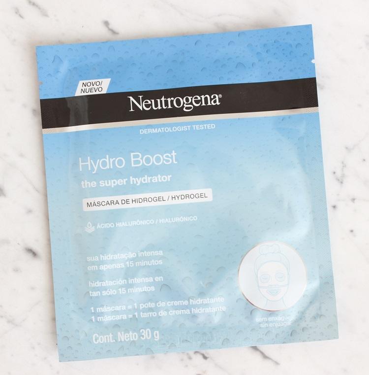 Máscara Hydro Boost Neutrogena - resenha