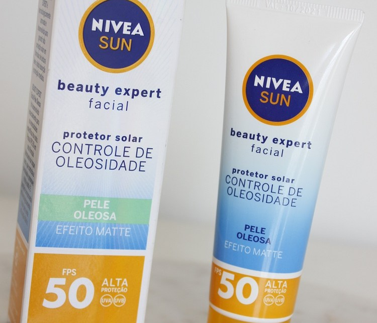 Nivea Sun Beauty Expert FPS50 Pele Oleosa Efeito Matte – resenha