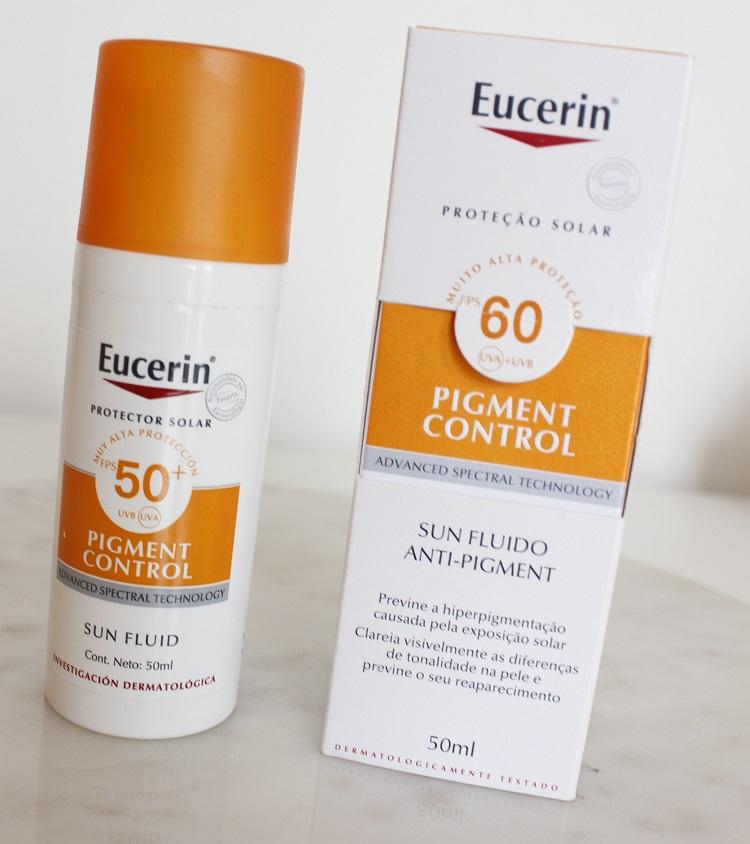 Eucerin Pigment Control - resenha protetor solar clareador