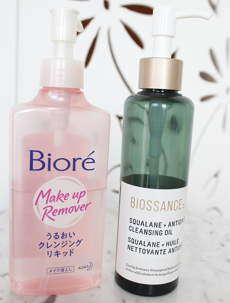 7 Cleansing Oils - cleansing oil importado Bioré e Biossance