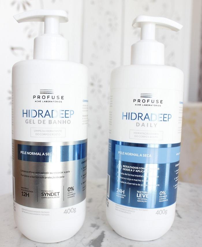 Hidradeep Profuse - resenha