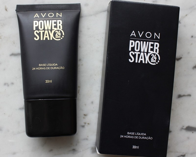Base Líquida Avon Power Stay 24h resenha da cor Porcelana
