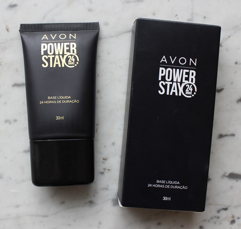 Base Líquida Power Stay 24H Avon resenha Cor Porcelana