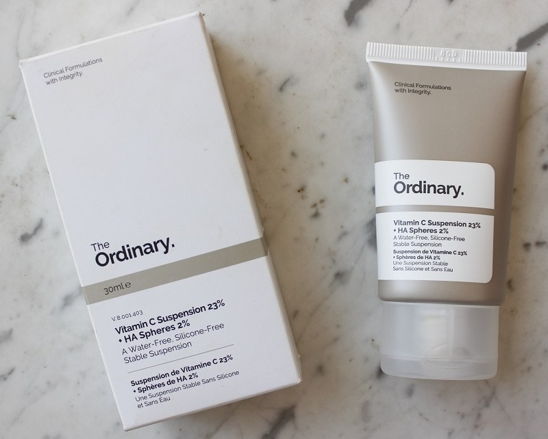 The Ordinary Vitamin C Suspension 23% + HA Spheres 2% é boa? Resenha
