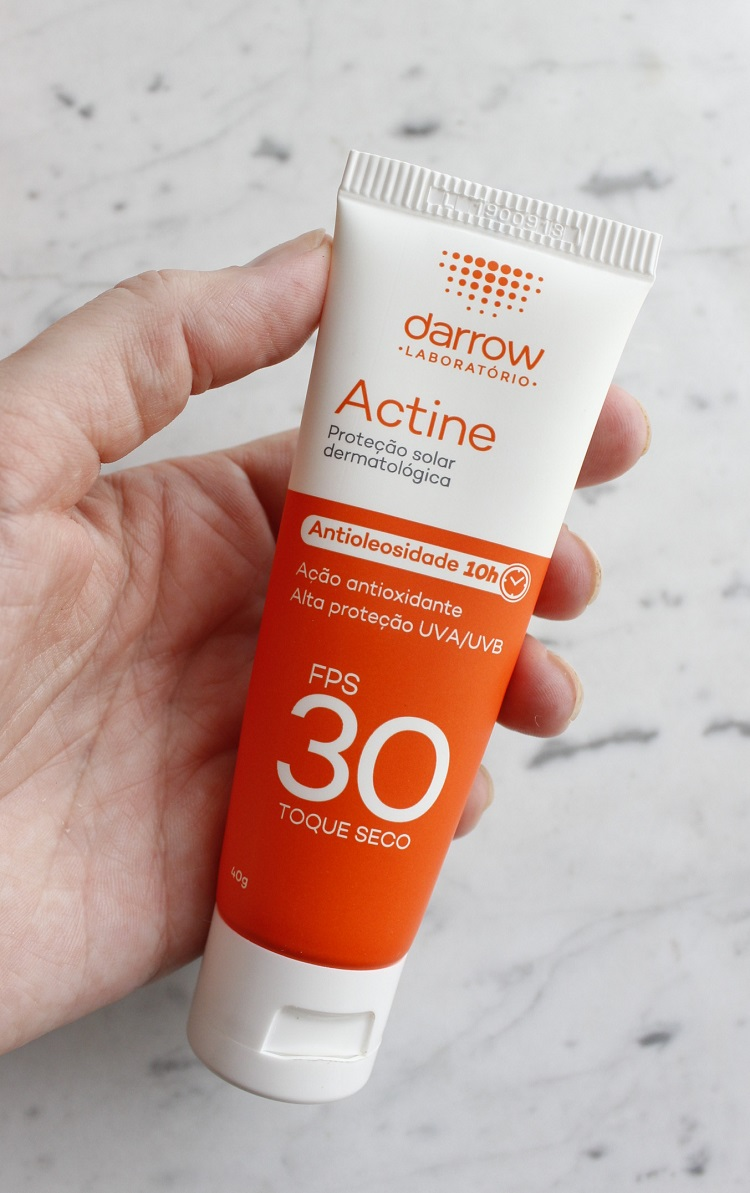 Actine FPS30 Antioleosidade resenha