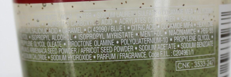 Vichy Dercos Micro Peel shampoo esfoliante composição