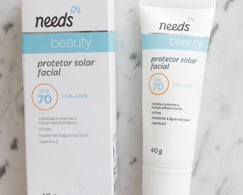 Needs Beauty FPS70 Protetor Solar Facial sem cor é bom?