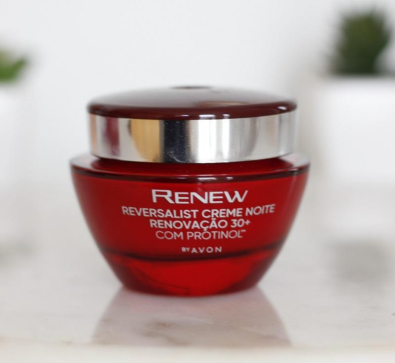 Renew Reversalist Creme Noite Renovação 30+ com protinol resenha