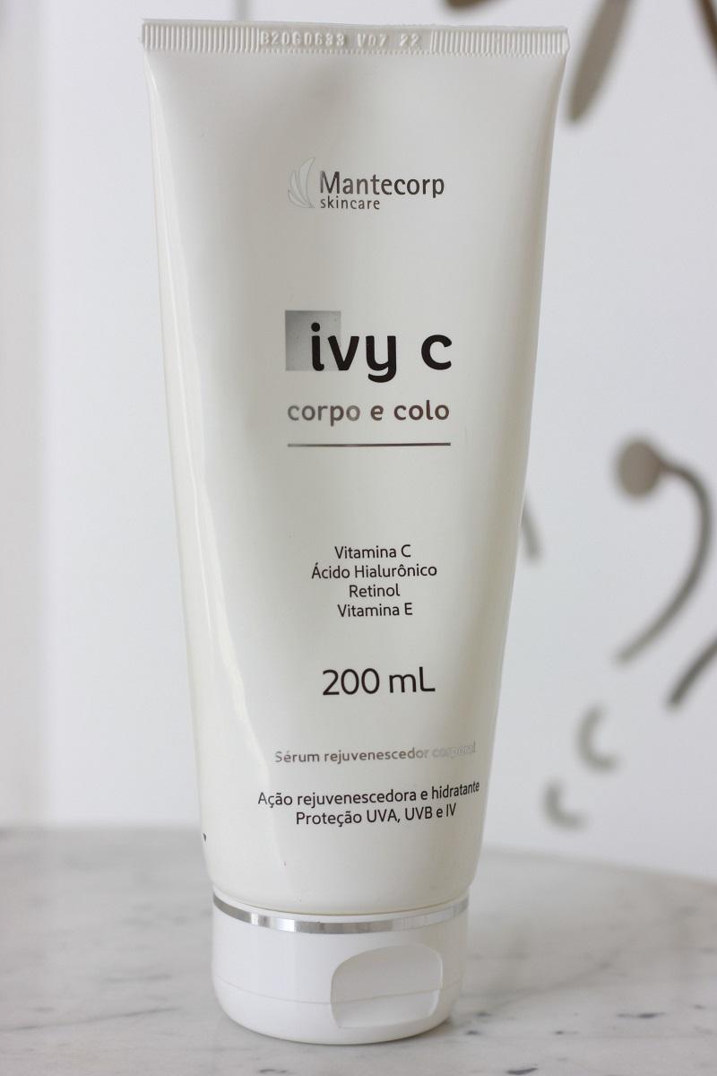 Ivy C Corpo e Colo resenha