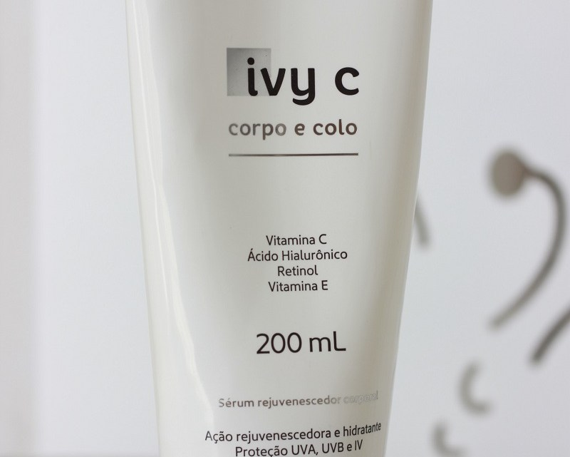 Ivy C Corpo e Colo resenha após 3 meses e meio de uso