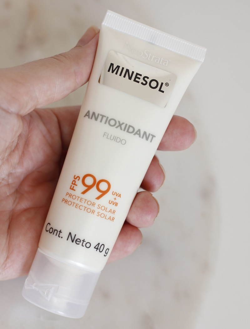 Neostrata Minesol Antioxidant FPS99 resenha protetor solar