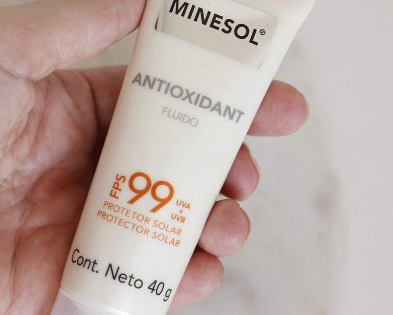 Neostrata Minesol Antioxidant FPS99 protetor solar – resenha