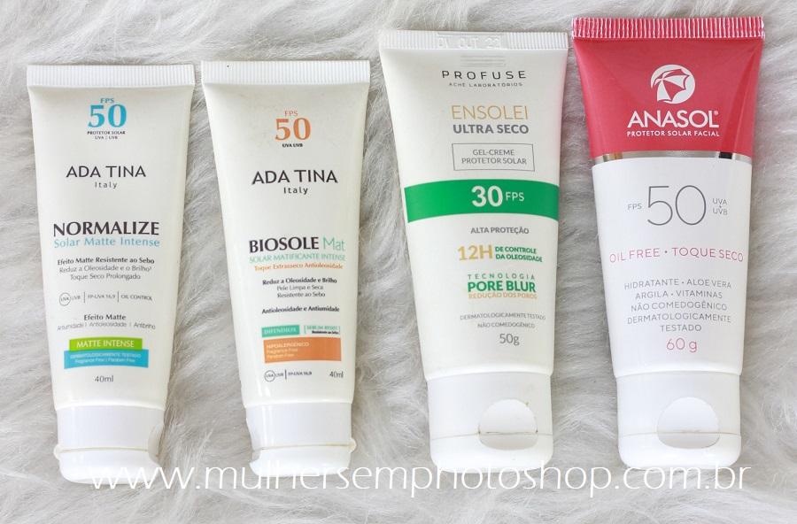 melhor protetor solar para pele oleosa - 11 opções