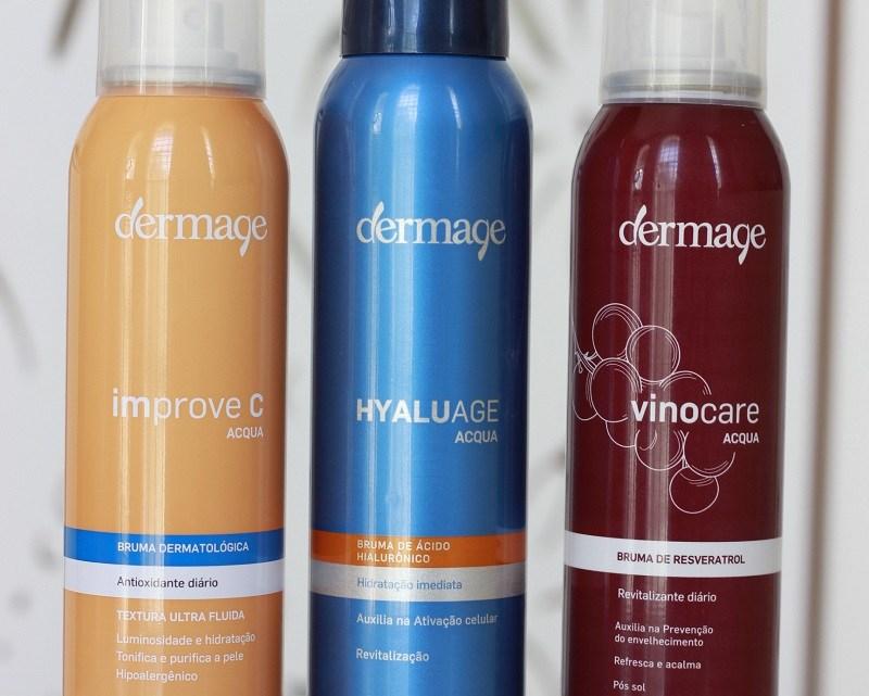 3 Brumas Dermage: Improve C, Hyaluage e Vinocare – resenha e comparação
