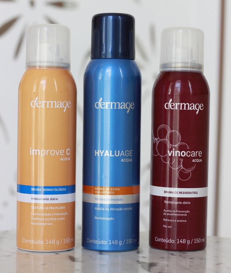 Bruma Dermage Improve C Vinocare Hyaluage Acqua resenha