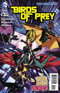 Birds of Prey #14 cover