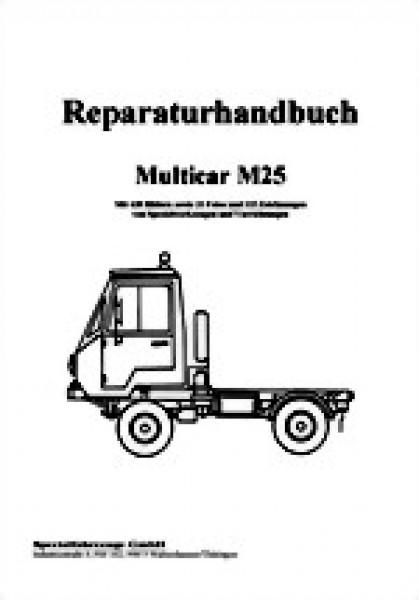 Multicar m25 reparaturanleitung pdf