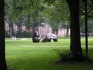 statue at MIT