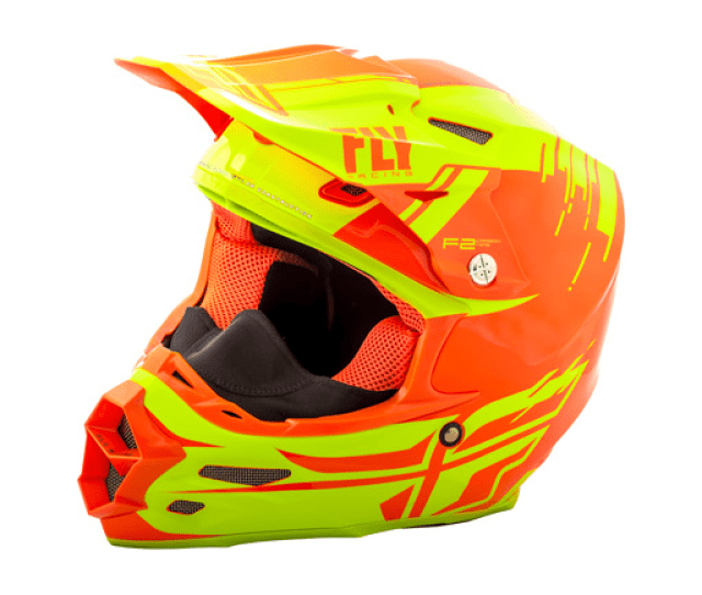 Fly  F Carbon Forge Cold Weather Dirt Bike Helmet