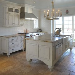 Wood Top Kitchen Island Can Lights Mullet Cabinet — Whimsical Disney-inspired