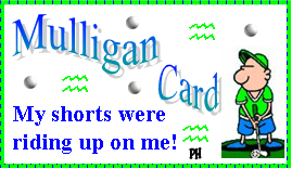 Mulligan Golf Make Golf Fun
