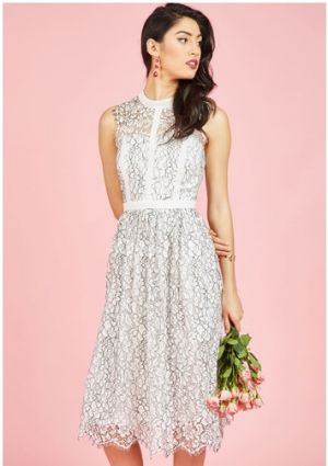 Ethereal Enlivening Midi Dress
