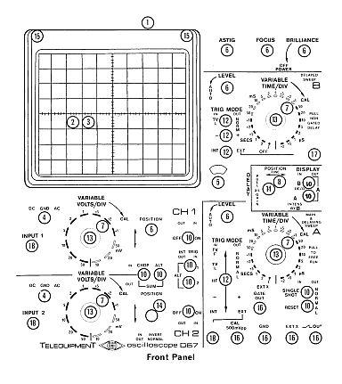 Telequipment D67 Oscilloscope Manual Circuit Download