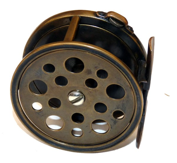 Mullock' Auctions - Reel Rare Hardy Brass Perfect