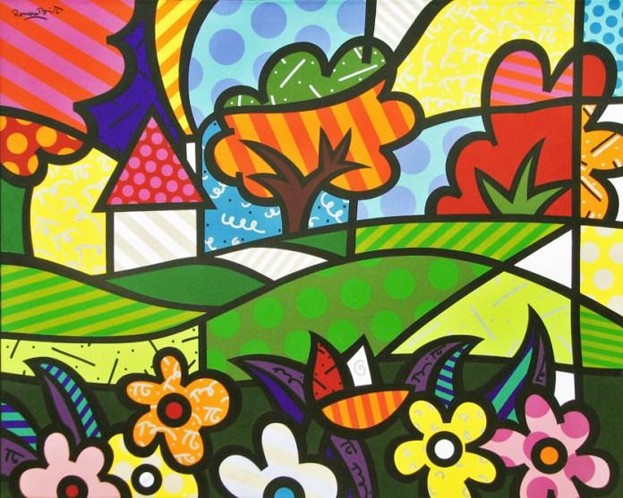Pintura: Arte by Romero Britto