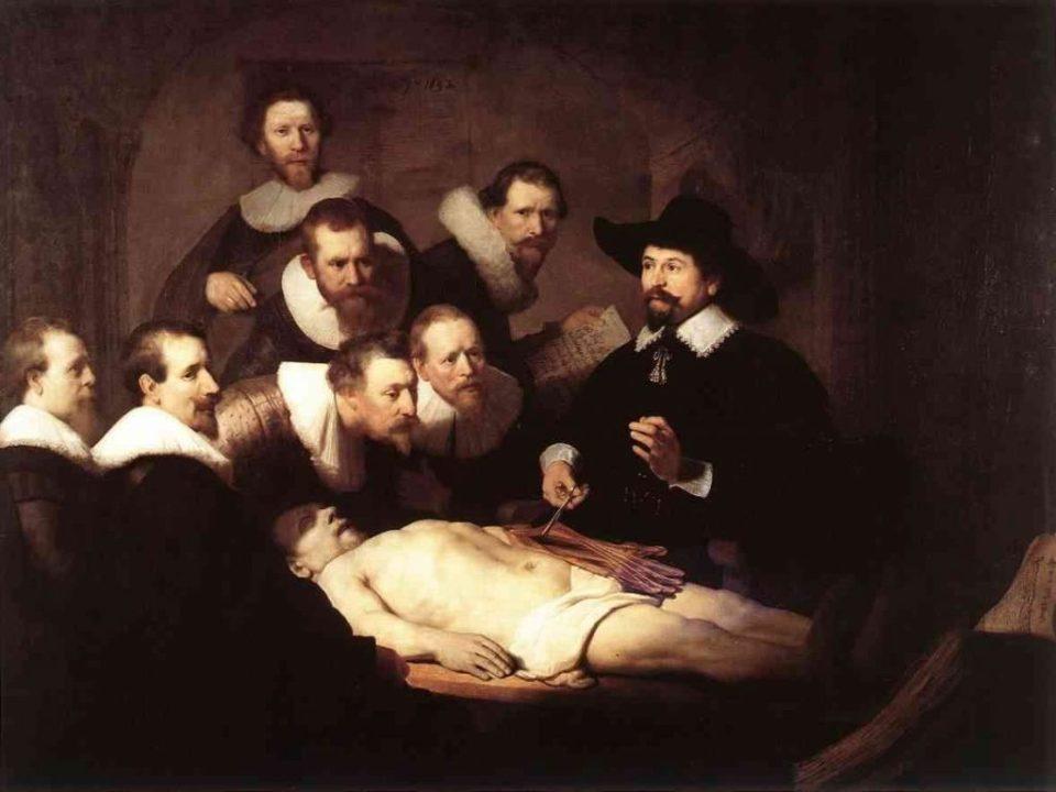 A Lição de Anatomia do Dr. Tulp