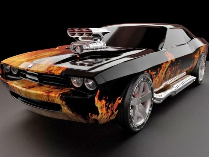 Dodge-Flames