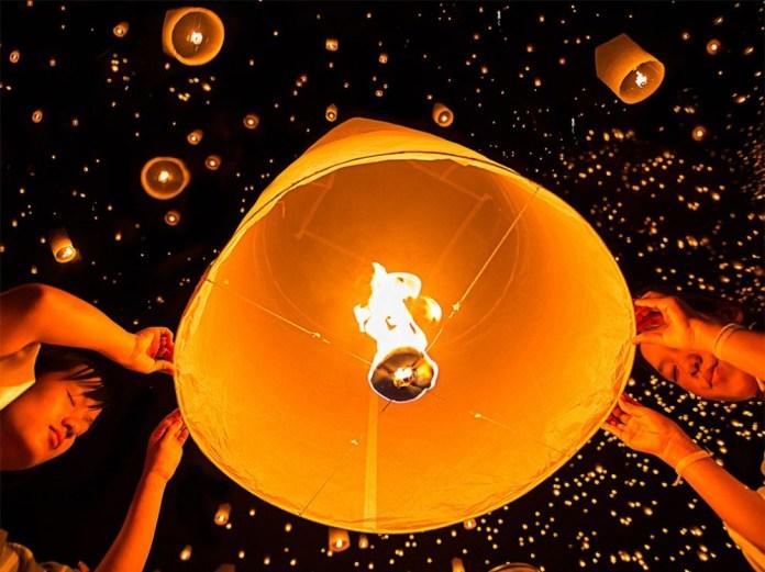 Lanternas na Tailândia