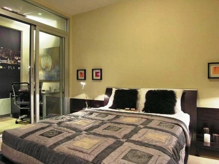 couple-bedroom-decor-also-images-with-patterned-blanket-on-dark-hardwood-floor-for-decoration