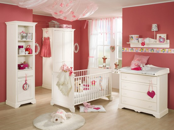 white-and-wood-baby-nursery-furniture-sets-by-Paidi-5