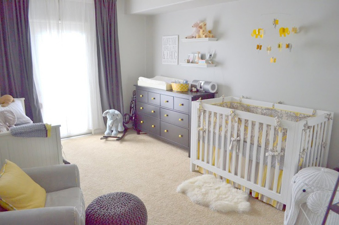 yellow-Baby-girl-room-decor-ideas-2015-trends-animal-theme